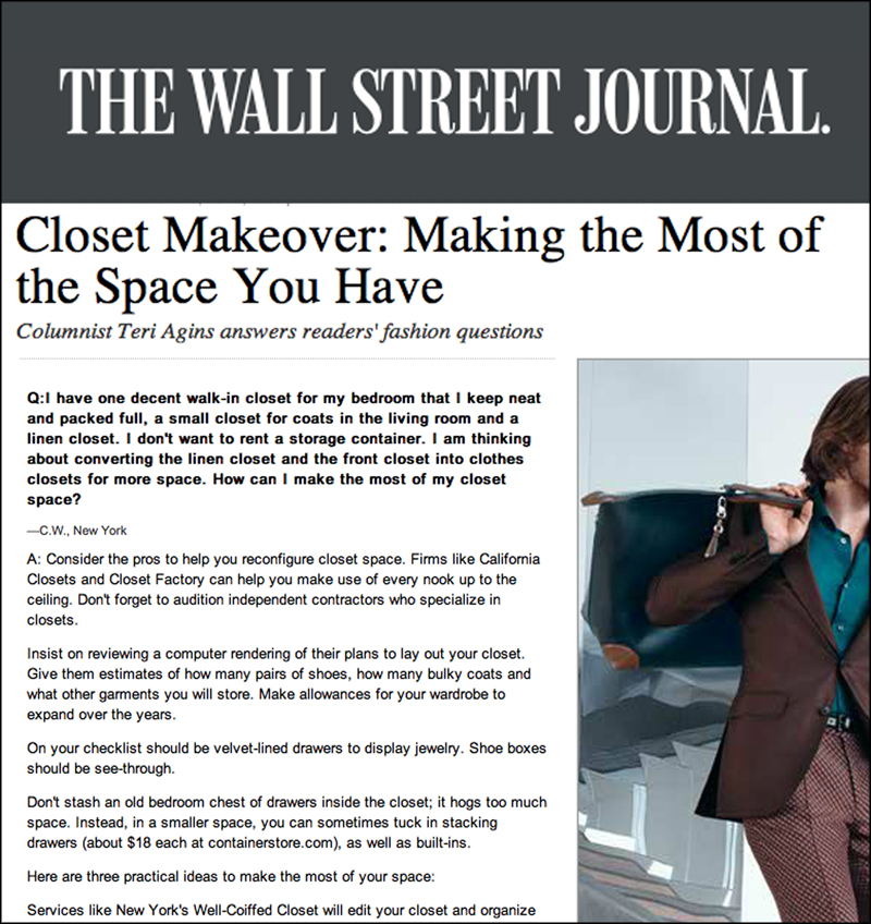 WALL STREET JOURNAL  March 2013