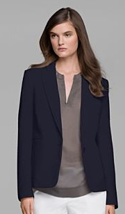 Dress down with the Tamner Cotton Blend Jacket from Theory
