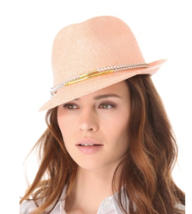 Throw on this great Eugenia Kim Craig Toyo Trilby Hat