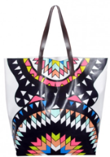 Add this Mara Hoffman Vinyl Printed Tote for day