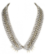 Accessorize with Fallon Jewelry's Roswell V Collar Necklace