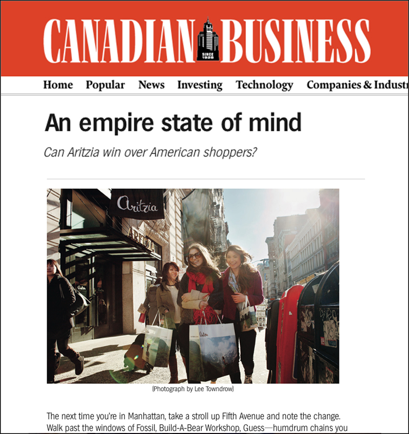 CANADIAN BUSINESS  March 2013
