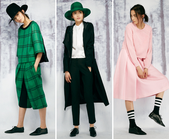 Some of the stunning looks from Tibi's Pre-Fall 2014 collection