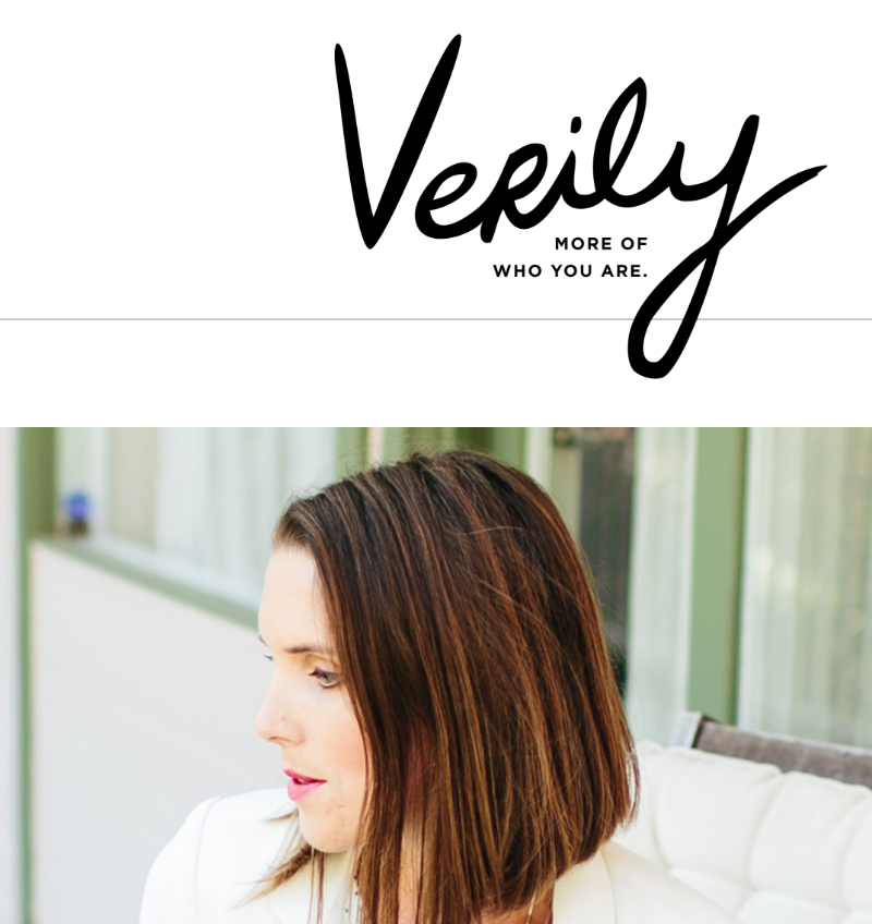 VERILY MAGAZINE November 2014