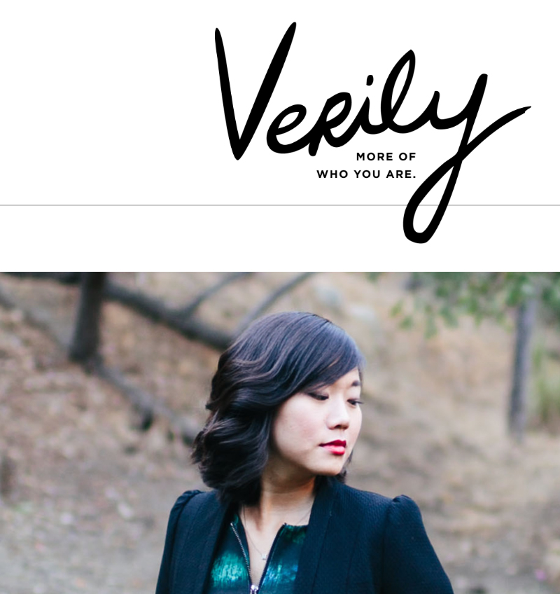 VERILY MAGAZINE December 2014