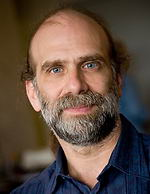 About  Bruce Schneier .    Photo by Geoffrey Stone.
