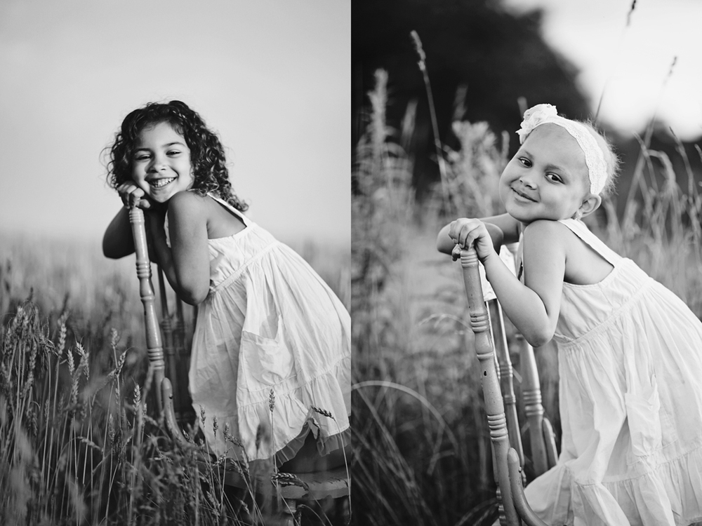 Last year on July 12th I took this photo of Desiray on the left, we had no idea at the time she was so sick.  I thought I would recreate it this year on July 12th.  I'm so happy I could talk her into this (she really had no interest lol).  Love ya Des!  Can't wait for August 2015!!