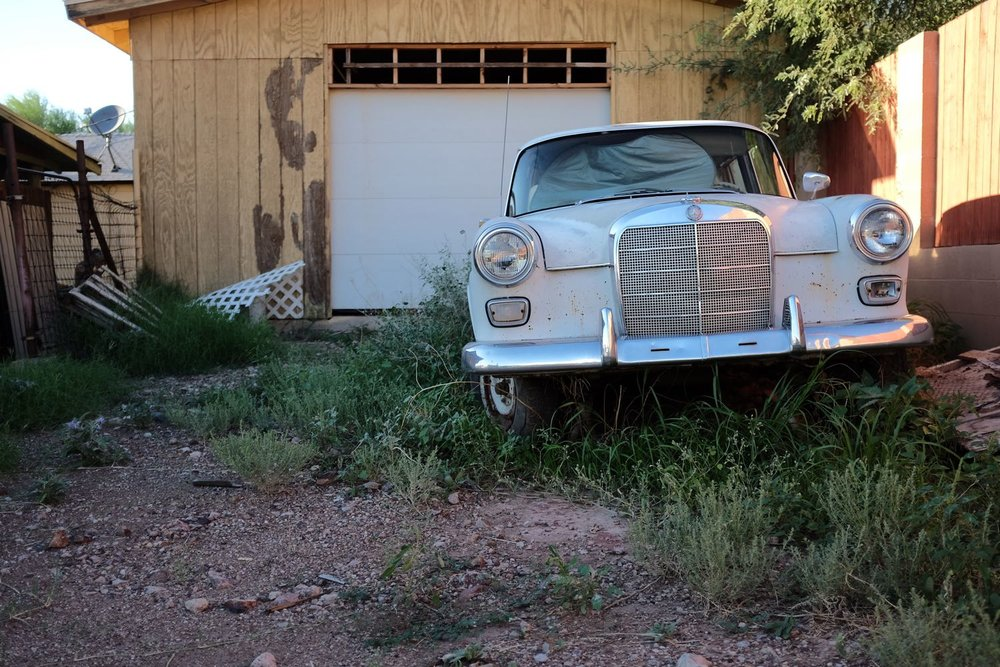 Vintage Mercedes - Superior, Arizona