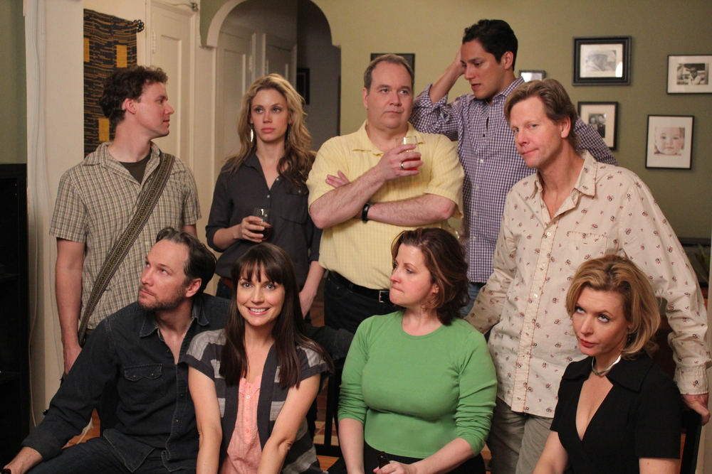 """Then we got HELP!"" Season 2 Cast Photo."