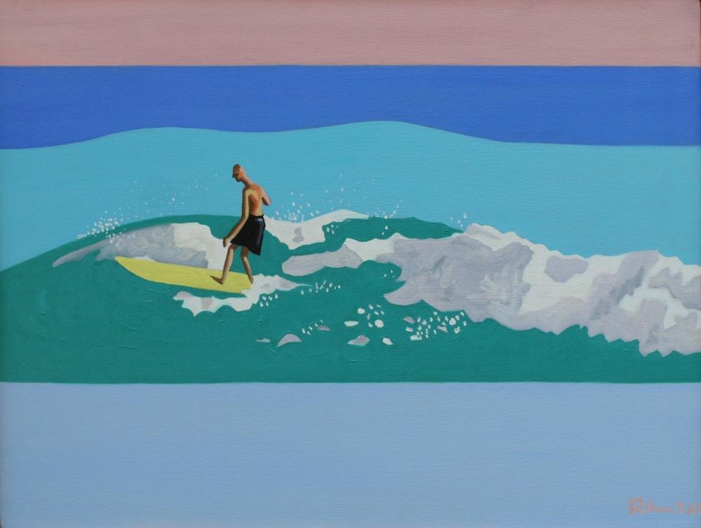 """Kauai Surf - oil on canvas - 18"""" x 24"""" - 2007"""
