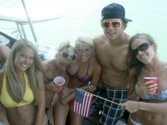 Matthew Stafford is living the high life