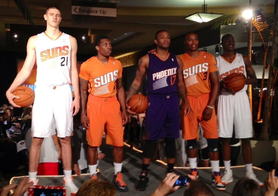 The Phoenix Suns unveiled new uniforms! Wait...is this news?!