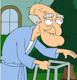 I think the old man from Family Guy is a huge Chinese Tapei fan