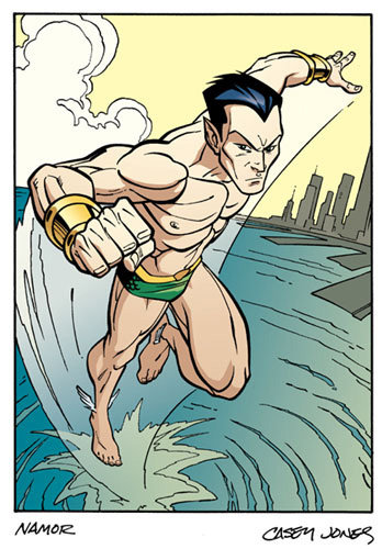 James Ryen = Sub-Mariner