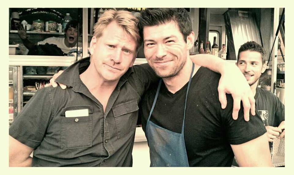With Dash Mihok...