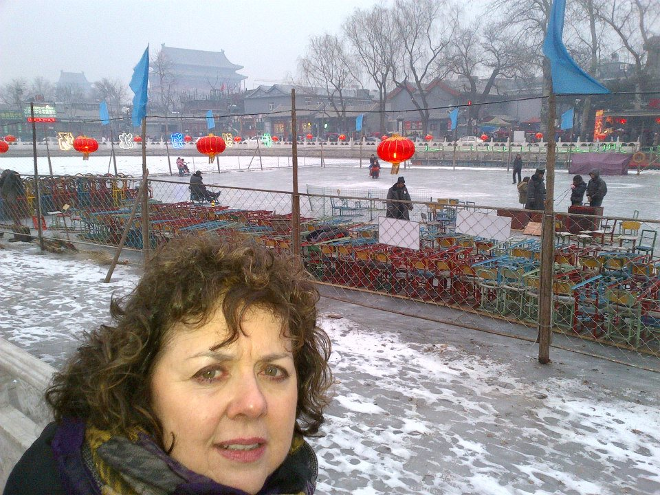 Me at Houhai Lake, Beijing