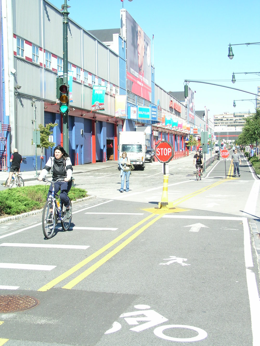 Chelsea bike path