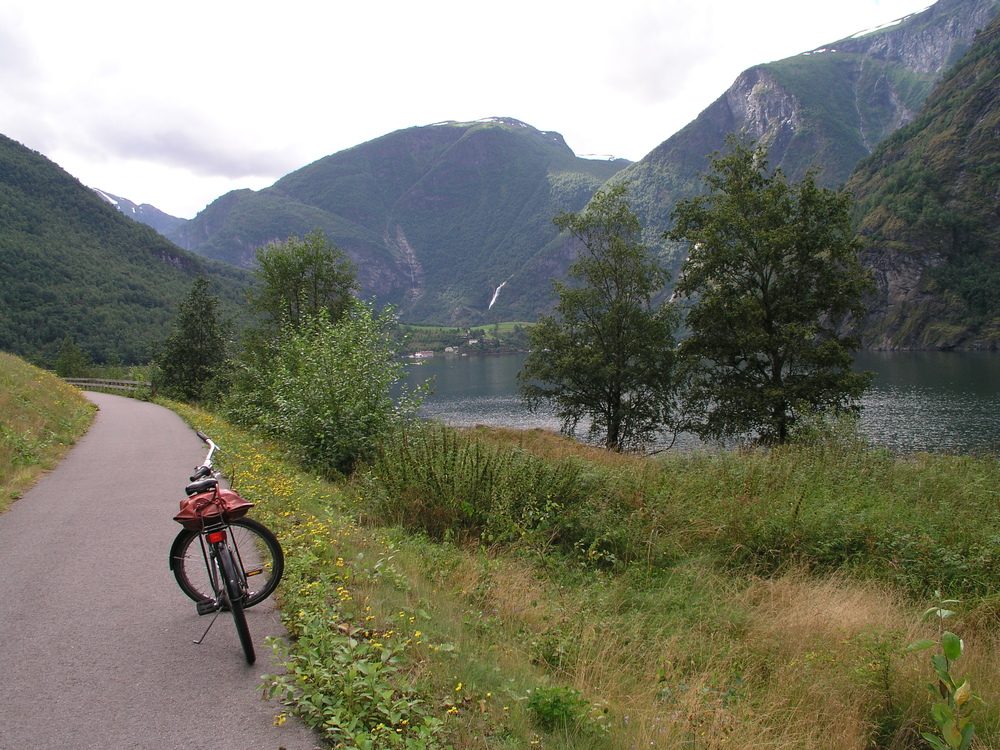 Biking the fjords of Norway