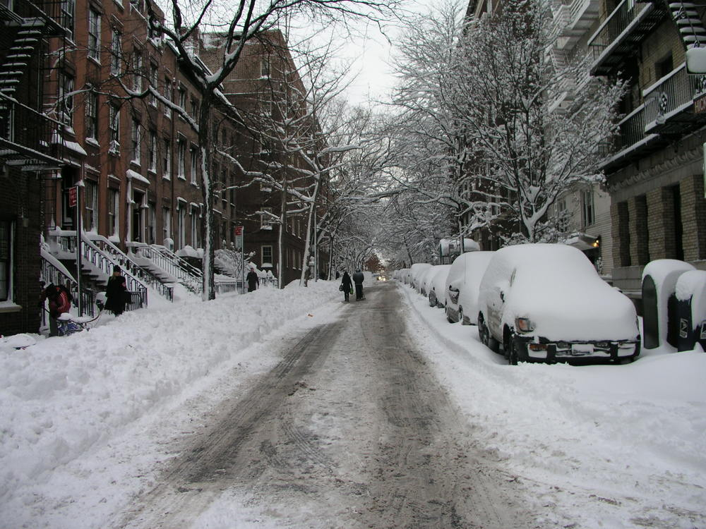 Brooklyn Snow Streets Unplowed