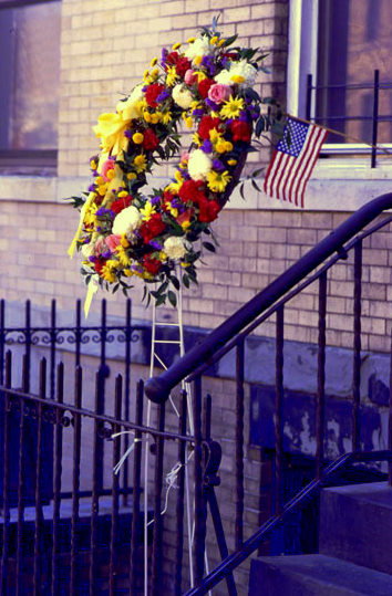 Brooklyn Wreath, photo by Michael Couzens, Sept. 12
