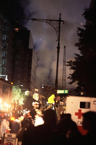 Emergency operations at Ground Zero, photo by Michael Couzens, Sept. 13