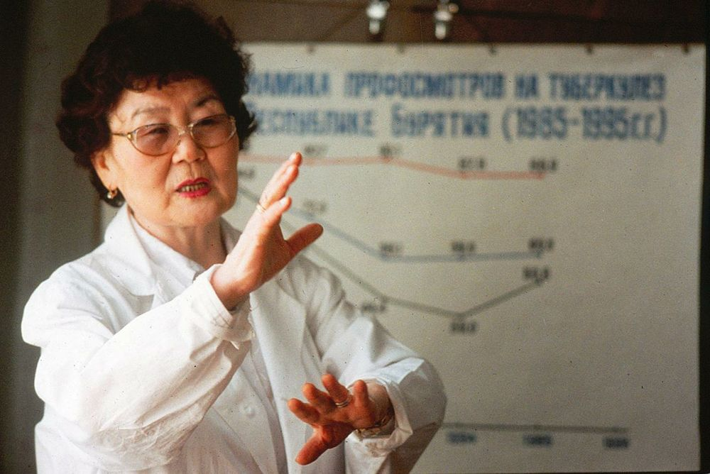 Dr. Galina Dugarova heads up TB control for the Buryatia people of Siberia. They have one of the world's highest tuberculosis rates.