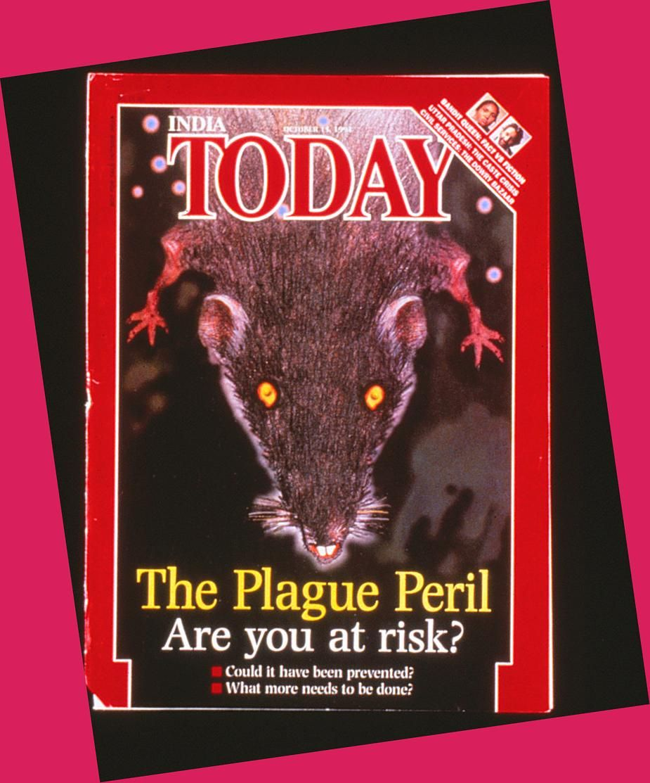 Cover of India's TODAY magazine declares PLAGUE