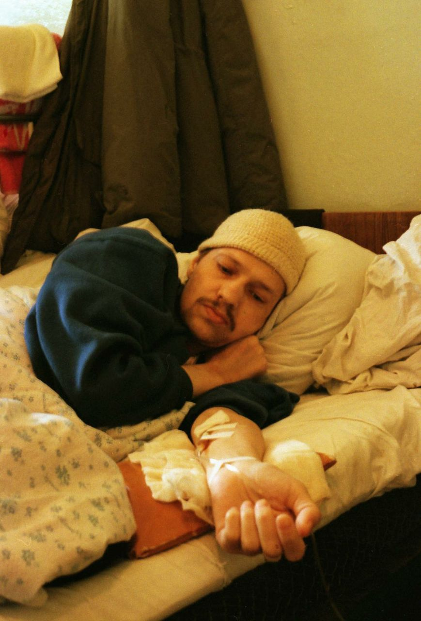 Man dying of highly drug-resistant TB in Moscow.
