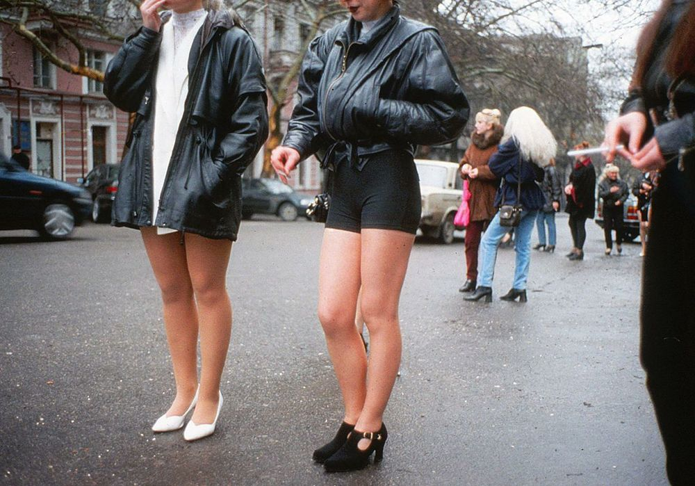 Prostitution is open and abundant in Moscow.