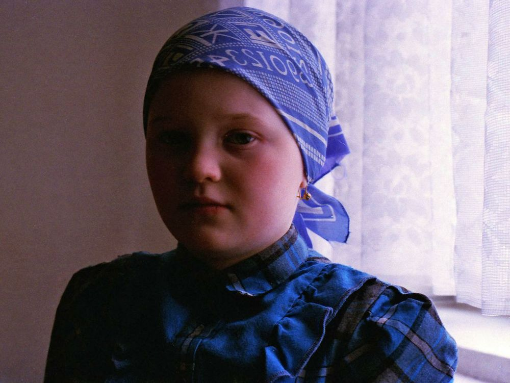 Katia is one of an estimated one million children abandoned by Russian parents