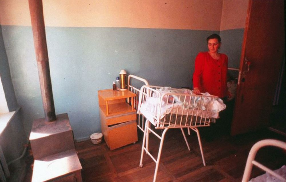 There is no heat on the neonatal ward.