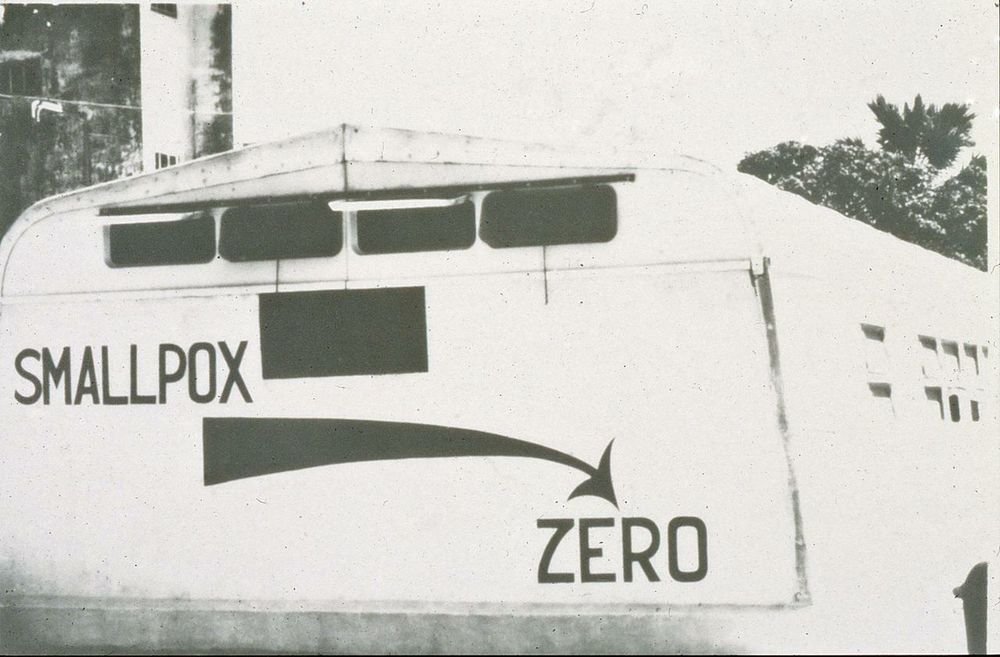 Smallpox eradication