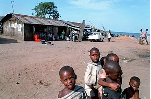 Here in Kansansero, Uganda, the modern AIDS epidemic began around 1974. Today, all the children are orphans, most of the women are sex workers, and most the fishermen are HIV+.
