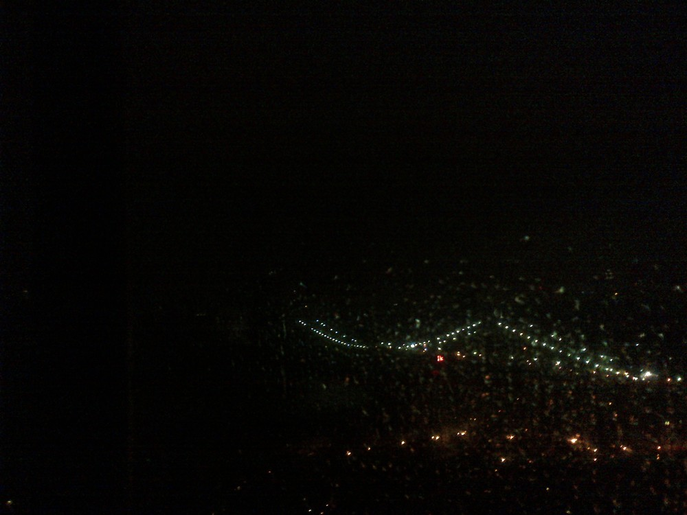 No lights across the East River