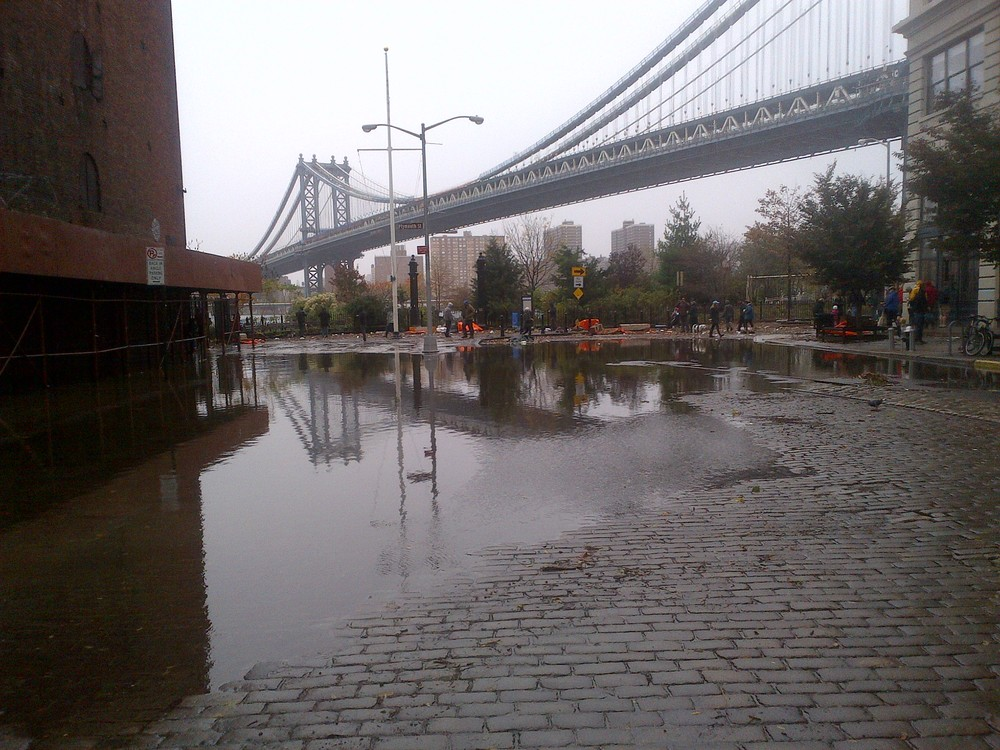 East River at DUMBO