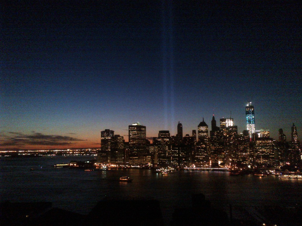 Sunset on 2012 Anniversary of 9/11
