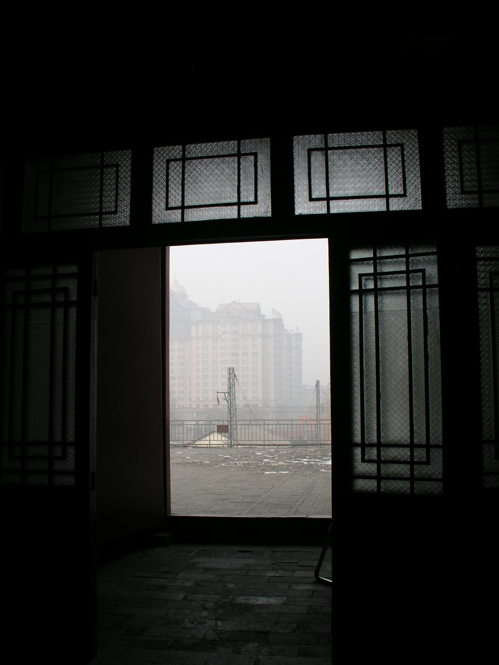 Looking Out at Beijing Air
