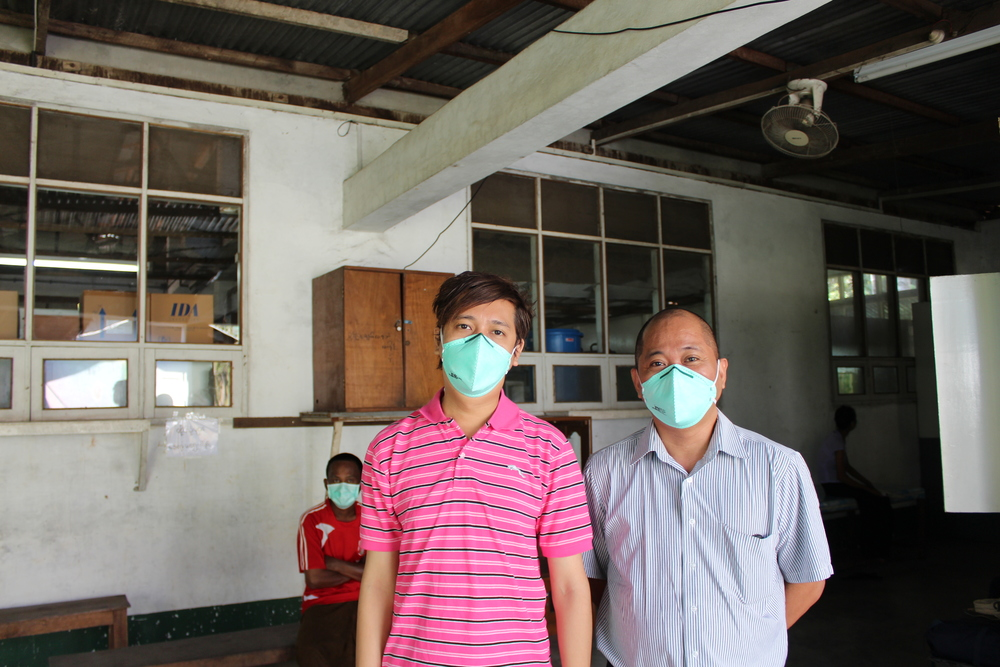 Brave Burmese TB Workers