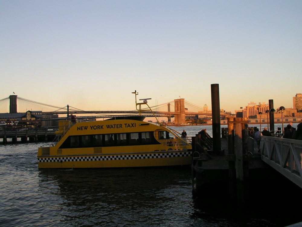 Water Taxi Lower Manhattan