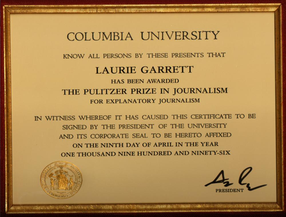 Da Pulitzer