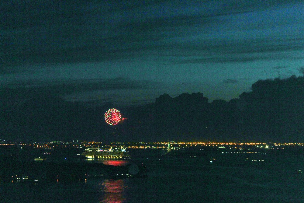 Fireworks in the Harbor