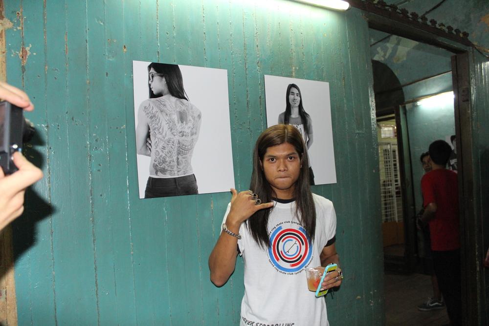 Yangon Skateboarder 2