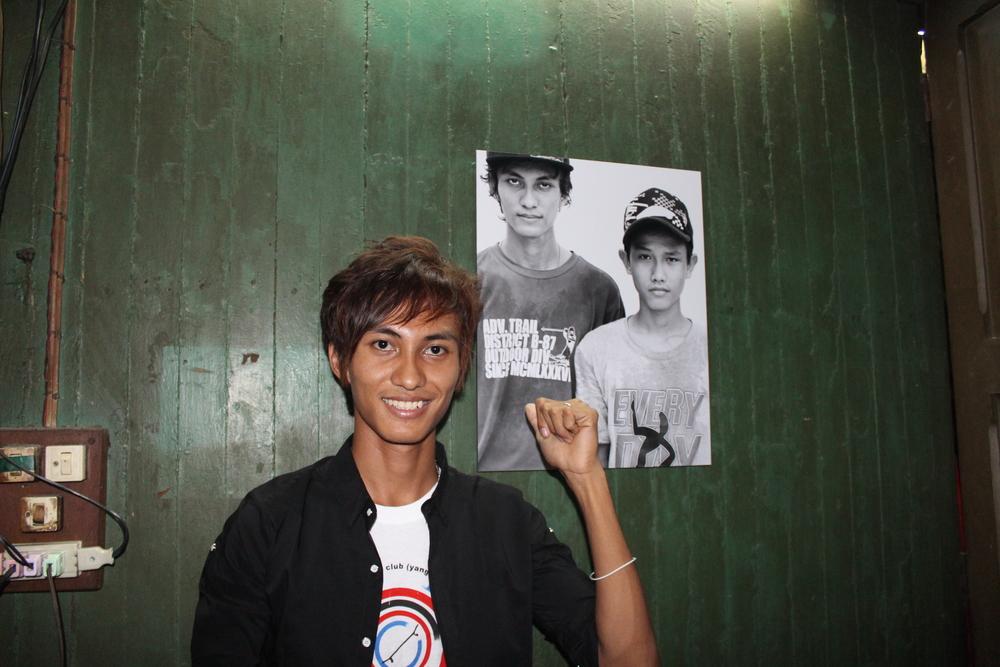 Yangon Skateboarder 3