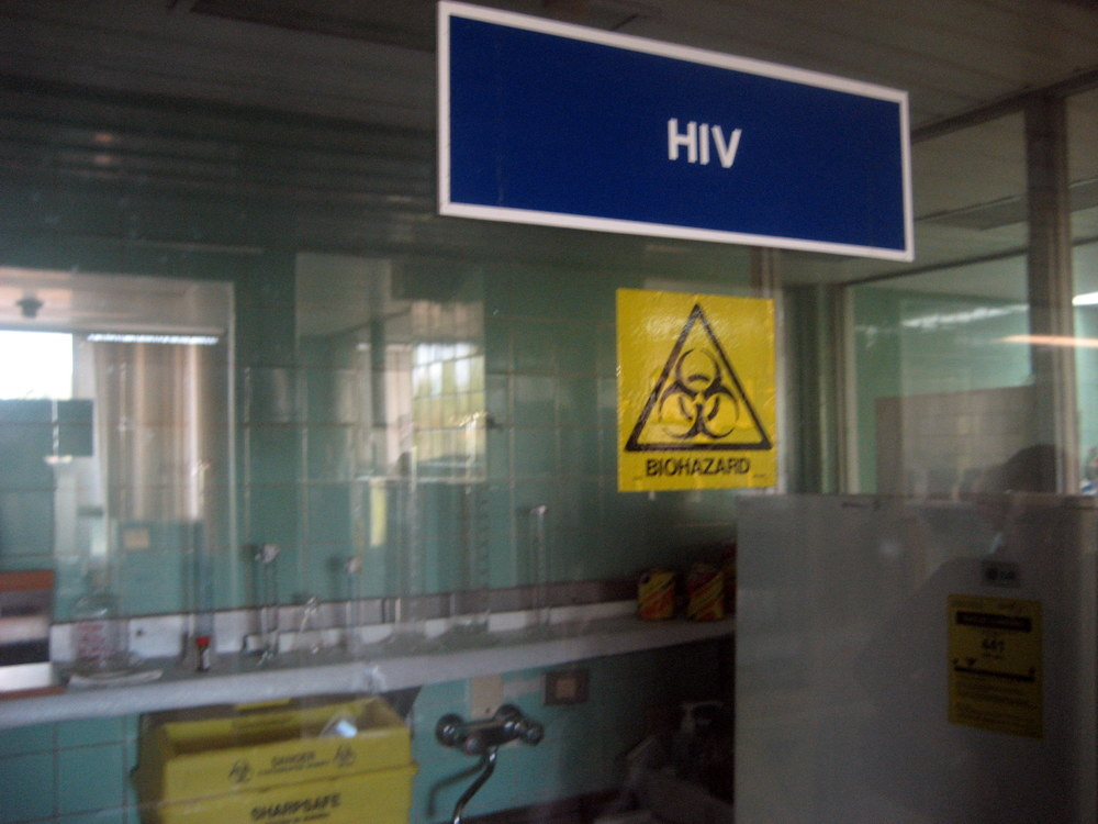 HIV care behind Biosecurity Glass