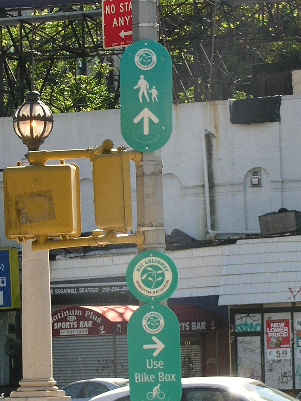 Idiotic street signs