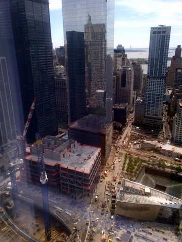 Ground Zero Construction 2013