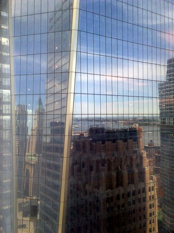 WTC One Reflects