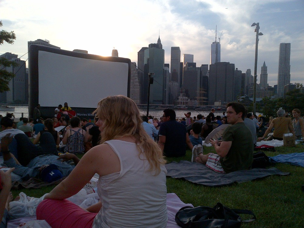 Summer Films in View of Freedom Tower