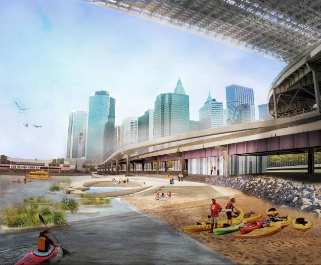 NYC Plans to Build a New Beach