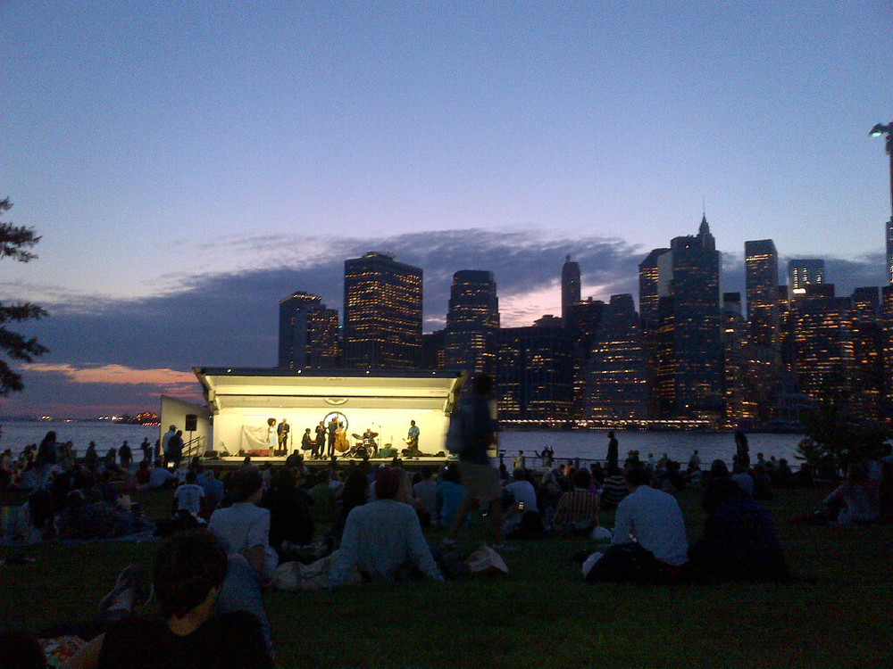 Jazz in View of WTC August 2013